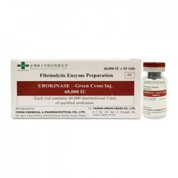 Thuốc Urokinase-Green Cross Inj. 60.000 IU