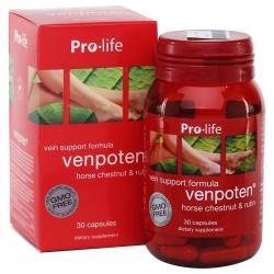 Tpbvsk giãn tĩnh mạch  Prolife Venpoten, Hộp 30 viên
