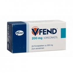 Thuốc Pfizer Vfend 200mg, Hộp 30 viên