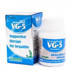 VG 5 hỗ trợ điều trị viêm gan
