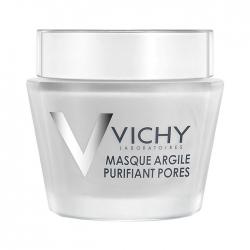 Mặt nạ dưỡng da bùn khoáng se khít lỗ chân lông Vichy Pore Purifying Clay Mask 75ml