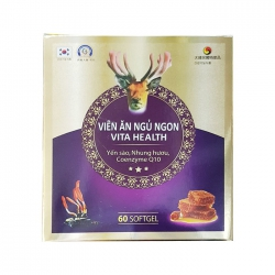 Tpbvsk viên ăn ngủ ngon Vita Health, Hộp 60 viên