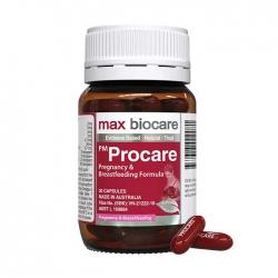 Viên bổ cho phụ nữ mang thai Max Biocare PM Procare 30 viên