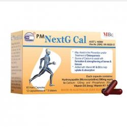 Viên bổ sung canxi Max Biocare PM NextG Cal 60 viên