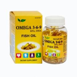 Viên dầu cá Vitabella Fish Oil Omega 369 100 viên