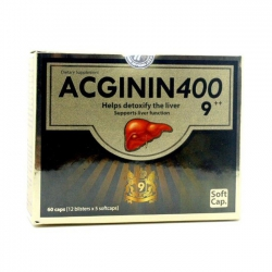 Viên giải độc gan Acginin 400 ( Dược phẩm trường thọ)