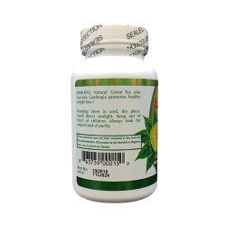 Viên giảm cân Natural Green Tea Garcinia Cambogia - Chai 60 viên