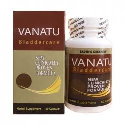Viên giảm tiểu đêm Earth's Creation Vanatu, Chai 60 viên