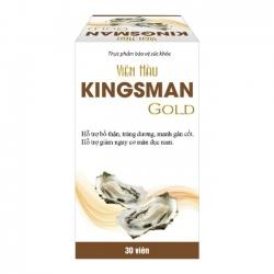 Thực phẩm bảo vệ sức khỏe Kingsman Gold , Hộp 30 viên