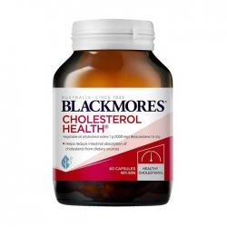 Viên Hỗ Trợ Giảm Mỡ Máu Blackmores Cholesterol Health, Chai 60 Viên