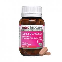 Viên hỗ trợ sinh lý nữ Max Biocare Red-Life For Women 60 viên