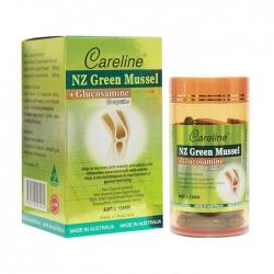 Viên khớp vẹm xanh Careline Nz Green Mussel, Chai 60 viên