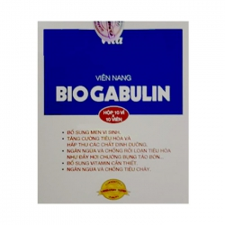 Viên nang Biogabulin Plus, Hộp 100 viên