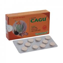 Viên ngậm CAGU trị viêm họng, khản tiếng, rát cổ