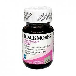 VIÊN SẮT CHO BÀ BẦU BLACKMORES PREGNANCY IRON ÚC