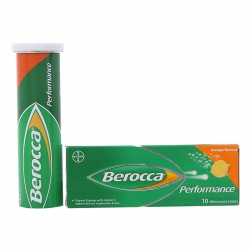 Thuốc bổ sung Vitamin Berocca Performance (10 viên/tuýp)
