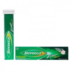 Viên sủi bổ sung vitamin và khoáng chất Berocca Boost 15 viên
