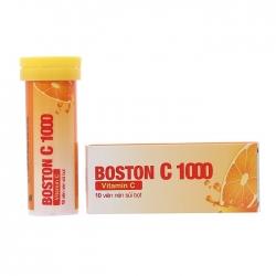 Vitamin C 1000mg Boston, Hộp 10 viên sủi