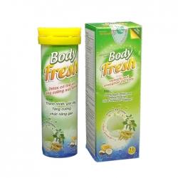 Viên sủi thải độc Body Fresh Tất thành, Tuýp 12 viên