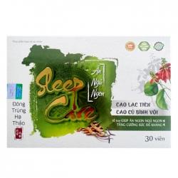 Viên uống ăn ngủ ngon Sleep Care, Hộp 30viên