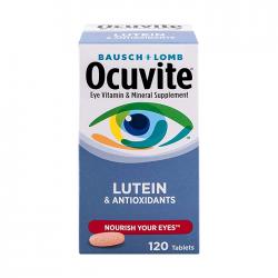 Viên Uống Bausch+Lomb Ocuvite Lutein & Antioxidants 120 viên