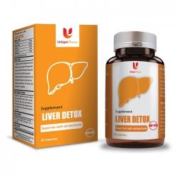 Viên uống bổ gan Liver Detox, Hộp 40 viên