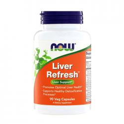 Viên uống bổ gan Now Livers Refresh, Chai 90 viên