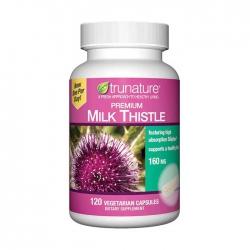 Viên uống bổ gan Trunature Milk Thistle Premium 160mg Hộp 120 viên