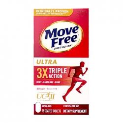 Viên uống bổ khớp Move Free Ultra 3x Triple Action 75 viên