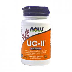 Viên uống bổ khớp Now UC-II Collagen Type 2 Joint Health, Chai 60 viên