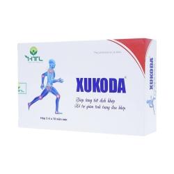 Viên uống bổ khớp Xukoda - Glucosamine 500mg/200mg, Hộp 3 vỉ x 10 viên