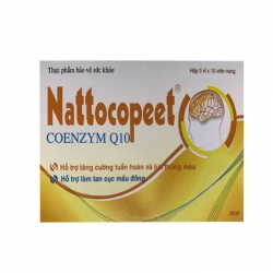 Viên uống bổ não Lafon Nattocopeet 30 viên