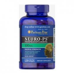 Viên uống bổ não Puritan's Pride Neuro-PS Phosphatidylserine 100mg, Chai 120 viên
