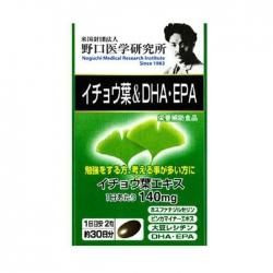 Viên Uống Bổ Sung DHA - EPA Noguchi, Chai 30 viên