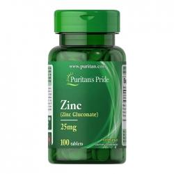 Viên uống bổ sung kẽm Puritan's Pride Zinc 25mg 100 viên