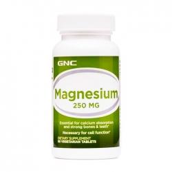 Viên uống bổ sung Magie GNC Magnesium 250mg 90 viên