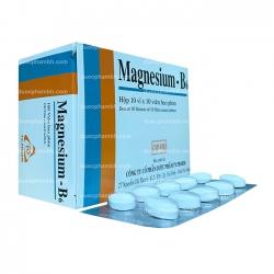 Viên uống bổ sung MAGNESIUM-B6 - Magnesium lactat 470mg