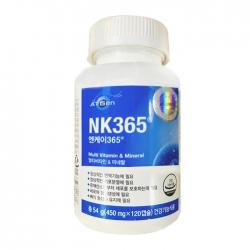 Viên uống bổ sung Multivitamin và khoáng chất At Gen NK 365 Multivitamin & Mineral 120 viên