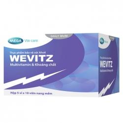Viên uống bổ sung Muntivitamin Wevitz 50 viên