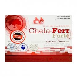 Viên uống bổ sung sắt cho bà bầu Olimp Labs Chela Ferr Forte, Hộp 30 viên