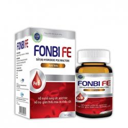 Viên uống bổ sung sắt Lafon Fonbi Fe vỉ 30 viên