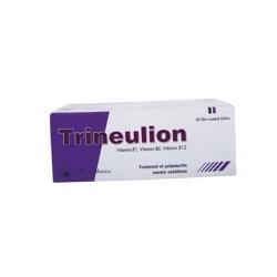 Viên uống bổ sung Trineulion 100mg/200mg/200mg, Hộp 5 vỉ x 10 viên