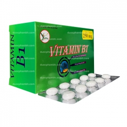 Viên uống bổ sung Vitamin B1 250mg