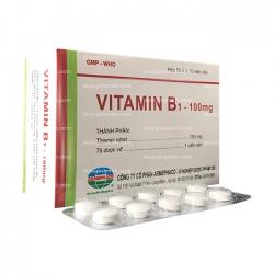 Viên uống bổ sung VITAMIN B1 - Thiamin nitrat 100mg