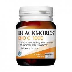 Viên Uống Bổ Sung Vitamin C Blackmores Bio C 1000mg Chai 31 Viên