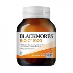 Viên Uống Bổ Sung Vitamin C Blackmores Bio C 1000mg Chai 62 Viên