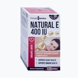 Viên uống bổ sung Vitamin E Natural E 400 IU 120 viên