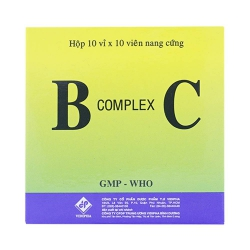 Viên uống bổ sung Vitamin khoáng chất B complex C, Hộp 10 vỉ x 10 viên