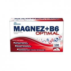 Viên uống bổ sung vitamin Lafon Magnez + B6 Optimal 100 viên