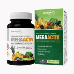 Tpbvsk bổ sung Vitamin Hotchland MegaActive, Chai 60 viên